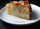 Le gâteau-flan aux pommes
